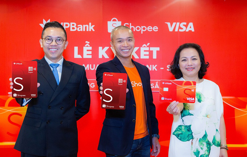 """Shopee hợp tác với VPBank và Visa ra mắt """"Thẻ tín dụng VPBank Shopee"""" - Ảnh 1."""