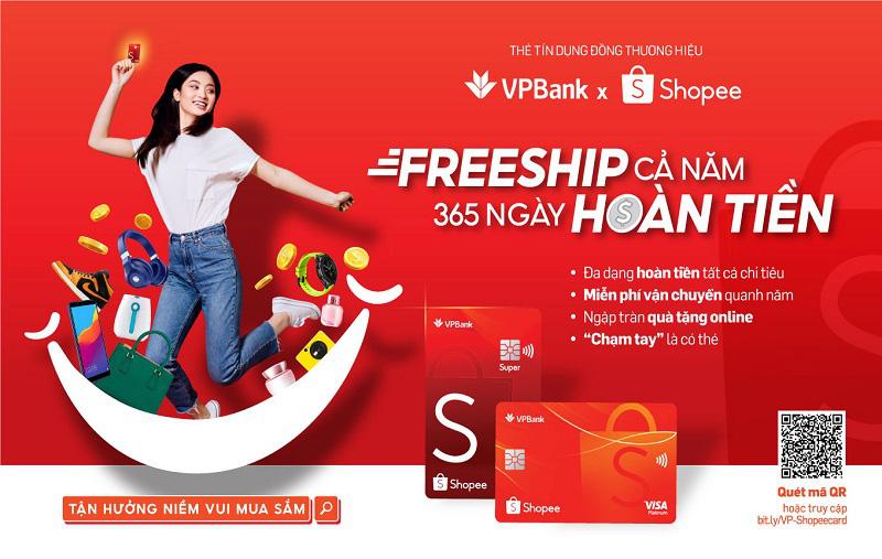 """Shopee hợp tác với VPBank và Visa ra mắt """"Thẻ tín dụng VPBank Shopee"""" - Ảnh 2."""