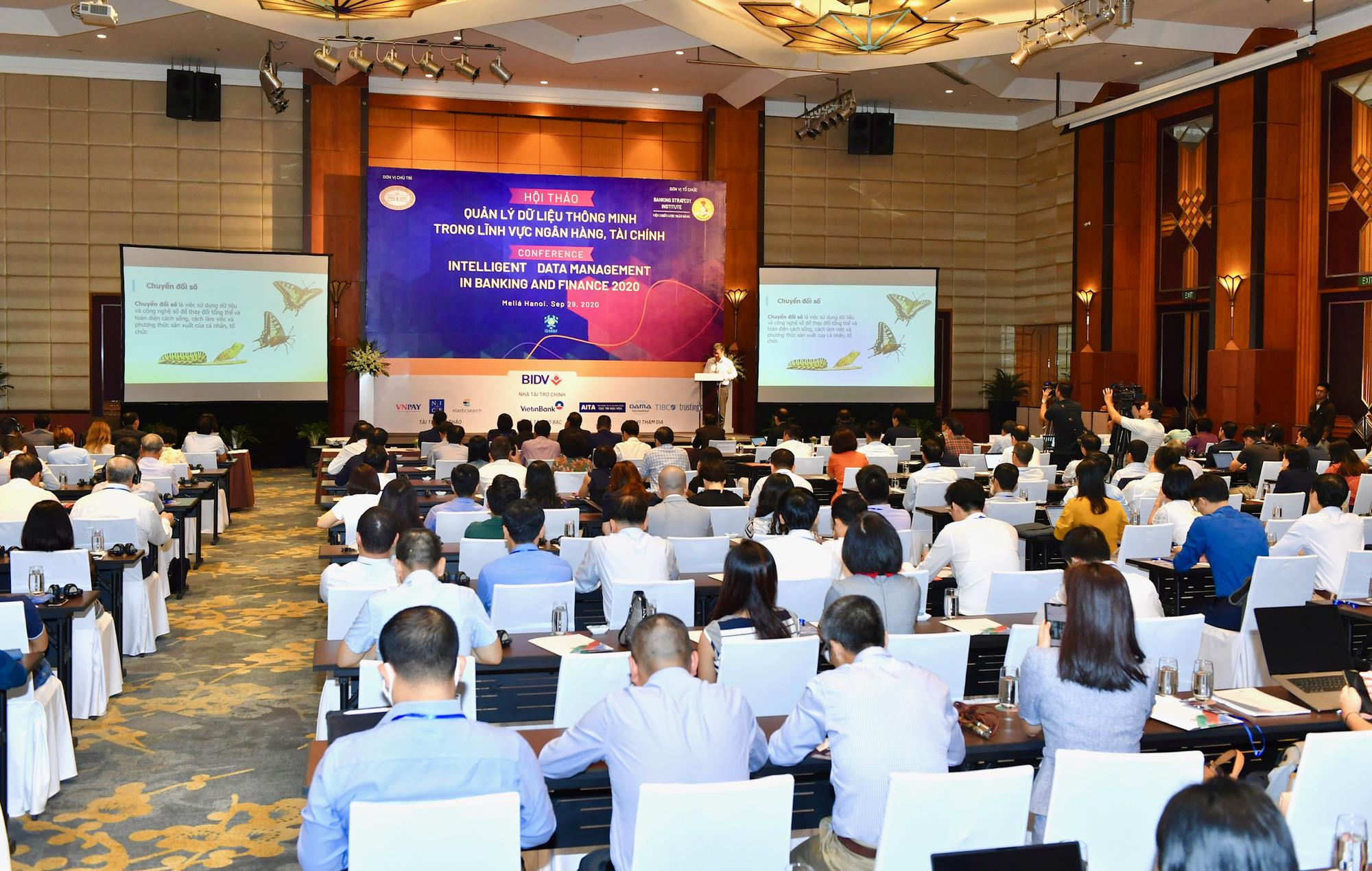 Phó Thống đốc Nguyễn Kim Anh: Ưu thế thuộc về người làm chủ các nguồn dữ liệu thông minh - Ảnh 1.