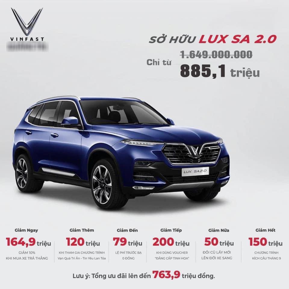 Tin xe (29/9): Xe Honda SH giảm giá kỷ lục, VinFast Lux SA2.0 giảm gần 800 triệu - Ảnh 2.