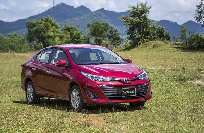 """""""Vua doanh số"""" Toyota Vios tung ưu đãi lớn, giá hấp dẫn cuối tháng 9 - Ảnh 1."""