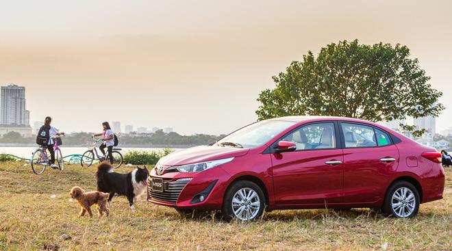 """""""Vua doanh số"""" Toyota Vios tung ưu đãi lớn, giá hấp dẫn cuối tháng 9 - Ảnh 2."""