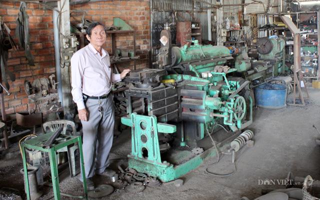 Một đời đam mê chế tạo máy phục vụ nông dân - Ảnh 1.