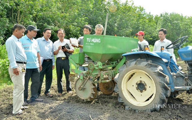 Một đời đam mê chế tạo máy phục vụ nông dân - Ảnh 3.