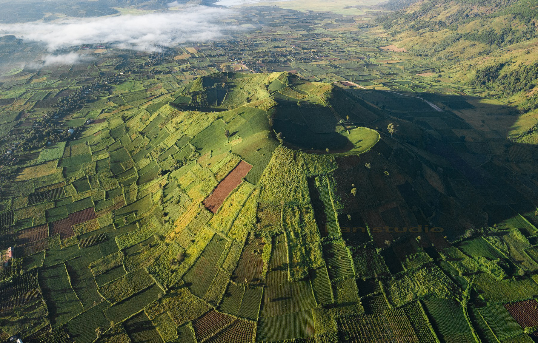 Chư Đăng Ya - một trong ngọn núi lửa đẹp nhất hành tinh - Ảnh 1.
