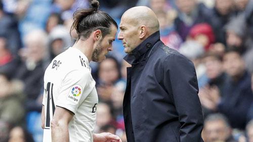 Bale có mâu thuẫn với HLV Zidane.
