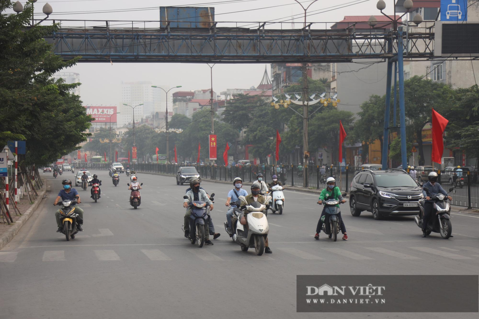 Cập nhật tình hình giao thông tại các cửa ngõ vào nội thành Hà Nội sau nghỉ lễ 2/9 - Ảnh 8.