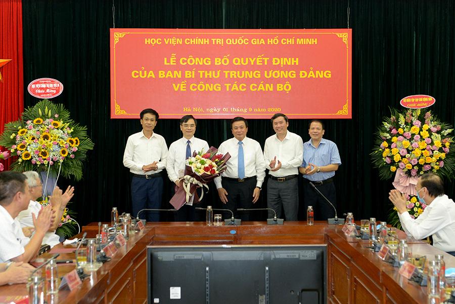 Ban Bí thư bổ nhiệm Phó Giám đốc Học viện Chính trị quốc gia Hồ Chí Minh - Ảnh 1.