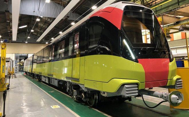 Đoàn tàu đầu tiên tuyến Metro Nhổn - ga Hà Nội sắp về tới Việt Nam - Ảnh 1.