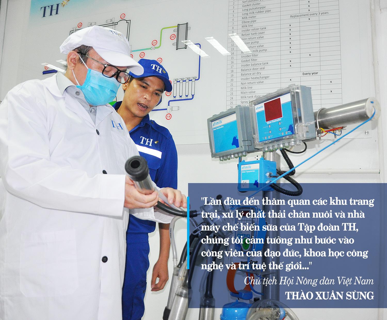 """Chủ tịch Hội Nông dân Việt Nam: Tập đoàn TH như """"chim đại bàng"""" đang vươn cánh ra thế giới - Ảnh 13."""