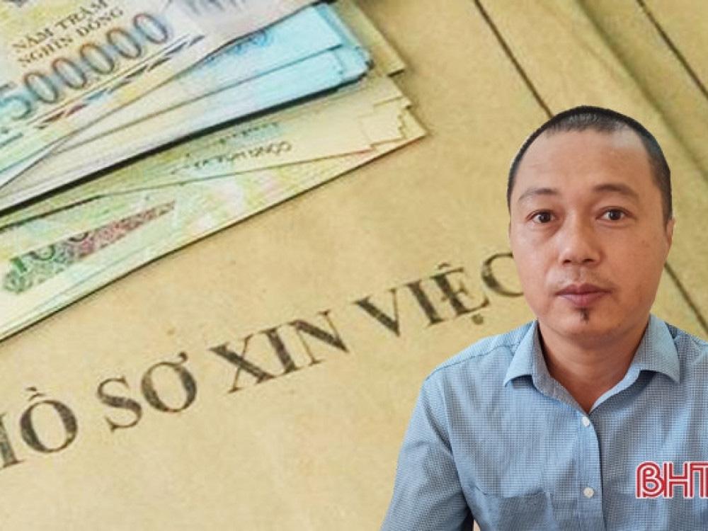 """Một Đại úy lừa 4 người dân Hà Tĩnh hơn 2 tỷ đồng """"chạy trường"""" công an, quân đội - Ảnh 1."""