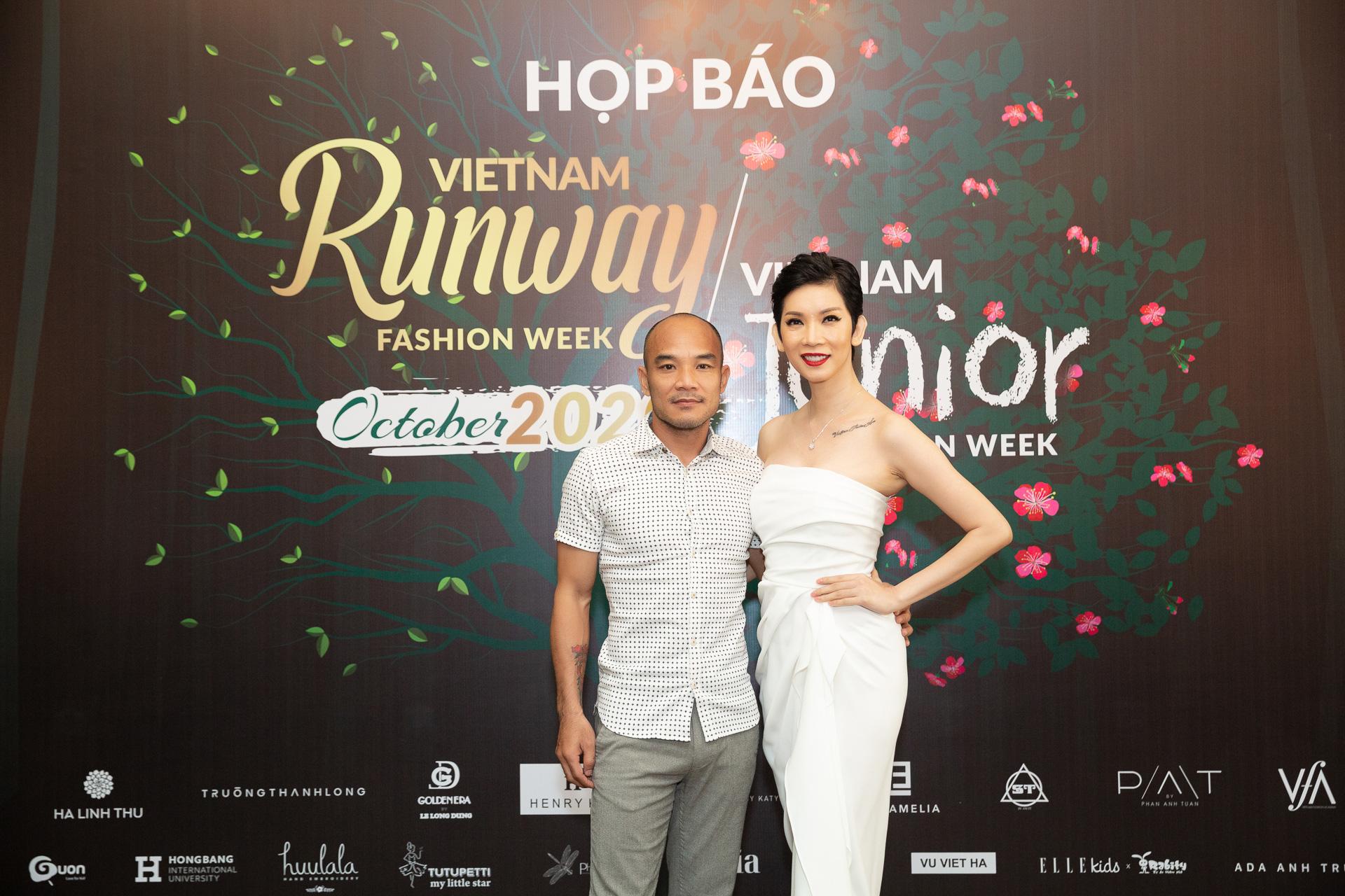 Hoàng Hải, Hà Linh Thư mở màn show diễn thời trang Vietnam Runway Fashion Week  - Ảnh 4.
