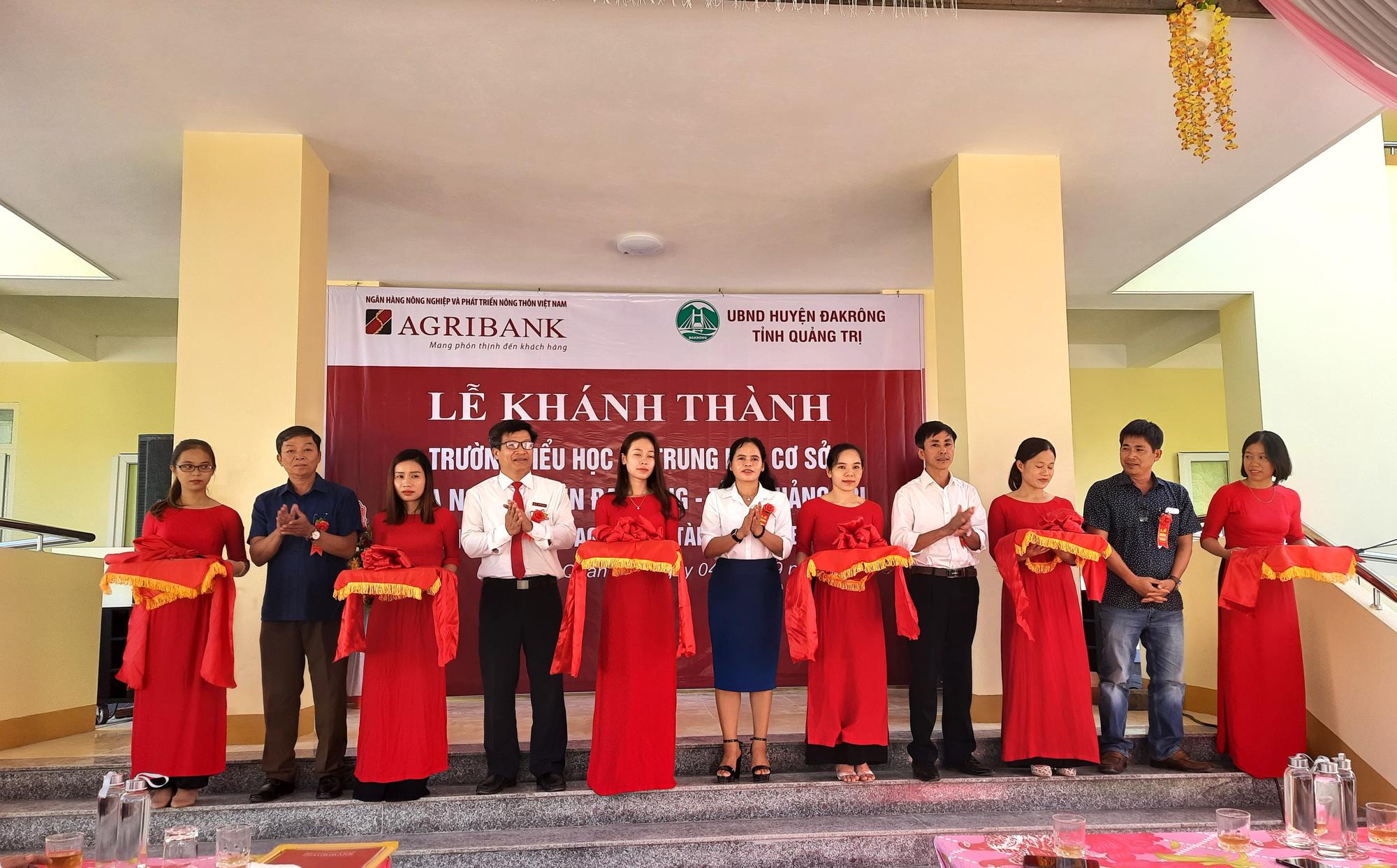 Ngân hàng Agribank xây trường học 5 tỷ đồng ở Quảng Trị - Ảnh 1.
