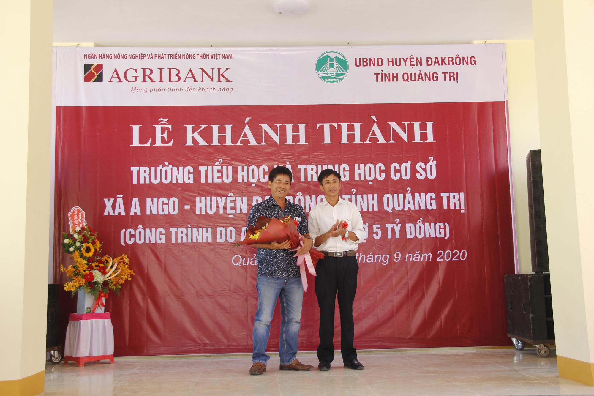 Ngân hàng Agribank xây trường học 5 tỷ đồng ở Quảng Trị - Ảnh 3.