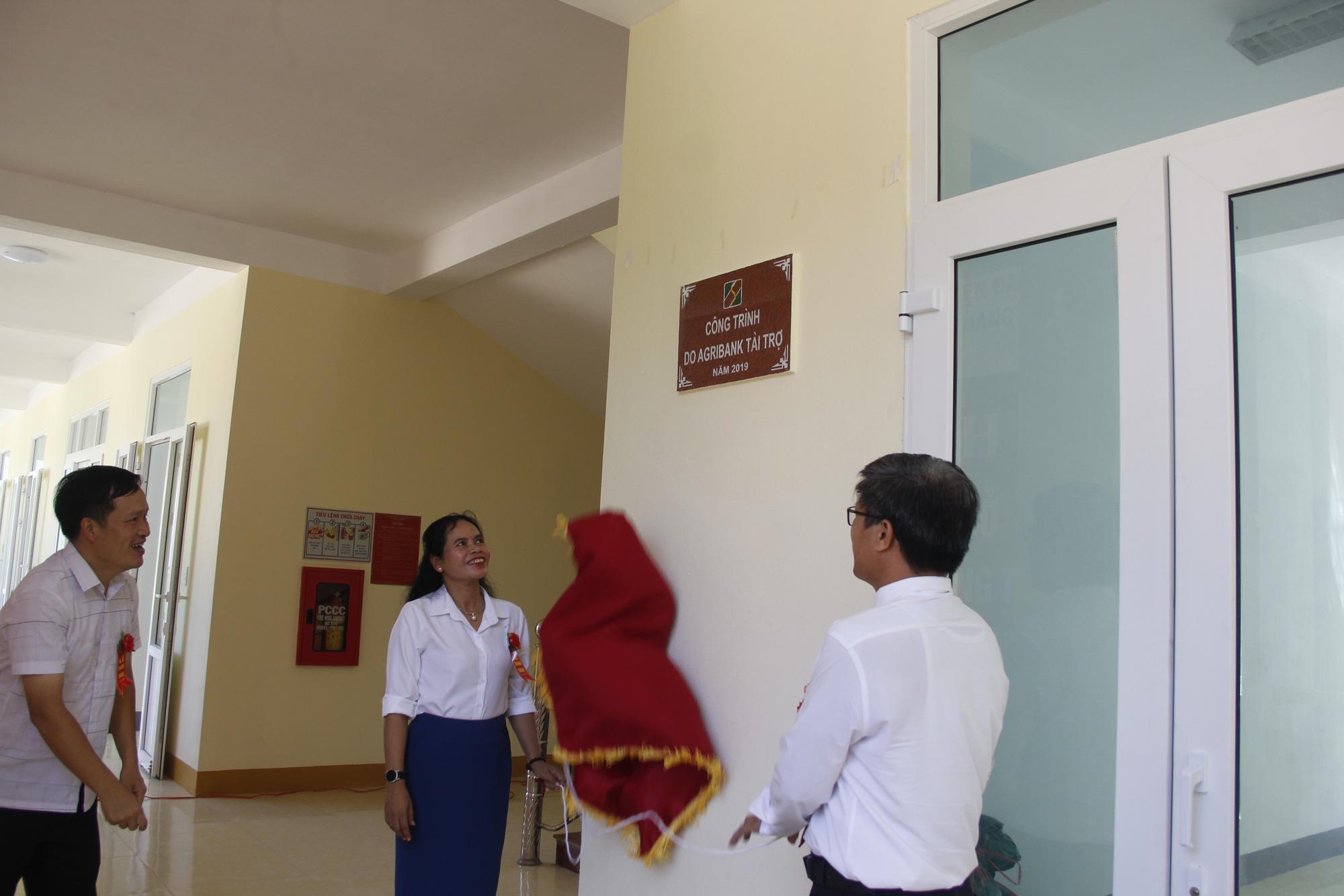 Ngân hàng Agribank xây trường học 5 tỷ đồng ở Quảng Trị - Ảnh 4.