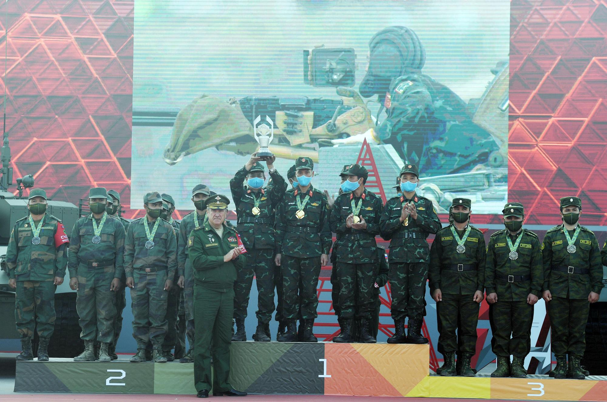 Nhìn lại 14 ngày tranh tài của QDND Việt Nam tại kỳ Army Games 2020 - Ảnh 8.