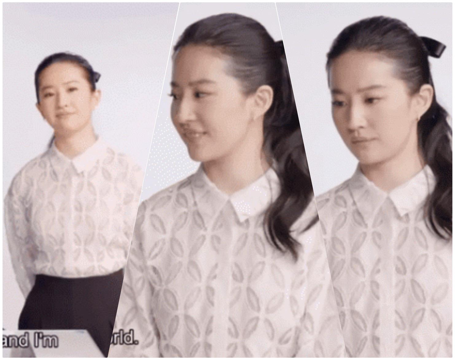 """Mỹ nhân cổ trang Trung Quốc để lộ mặt mộc khác xa nhan sắc """"thần tiên tỷ tỷ"""" gây """"choáng"""" - Ảnh 4."""
