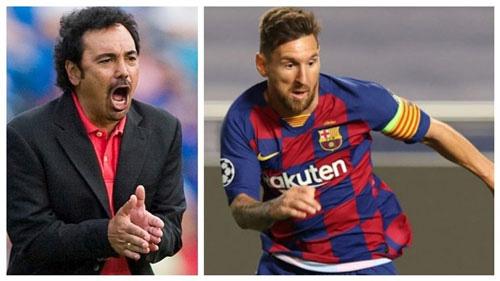 Ông Hugo Sanchez (trái) chỉ trích Messi.
