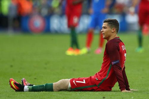 Ronaldo bị nhiễm trùng ngón chân.