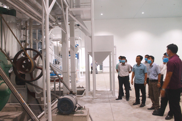 Quảng Bình: Trình diễn kỹ thuật dây chuyền sấy nông sản công nghệ cao - Ảnh 1.