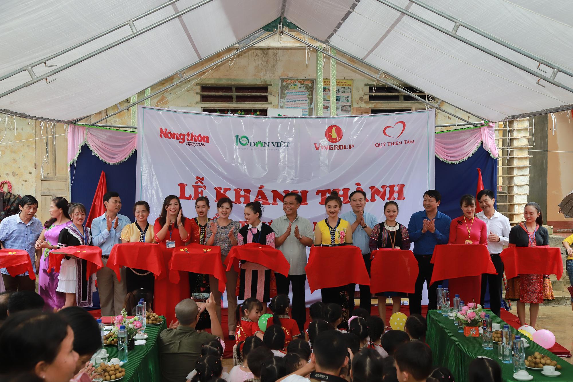 Gần trăm trẻ mầm non vùng cao biên giới Sơn La có điểm trường mơ ước - Ảnh 3.