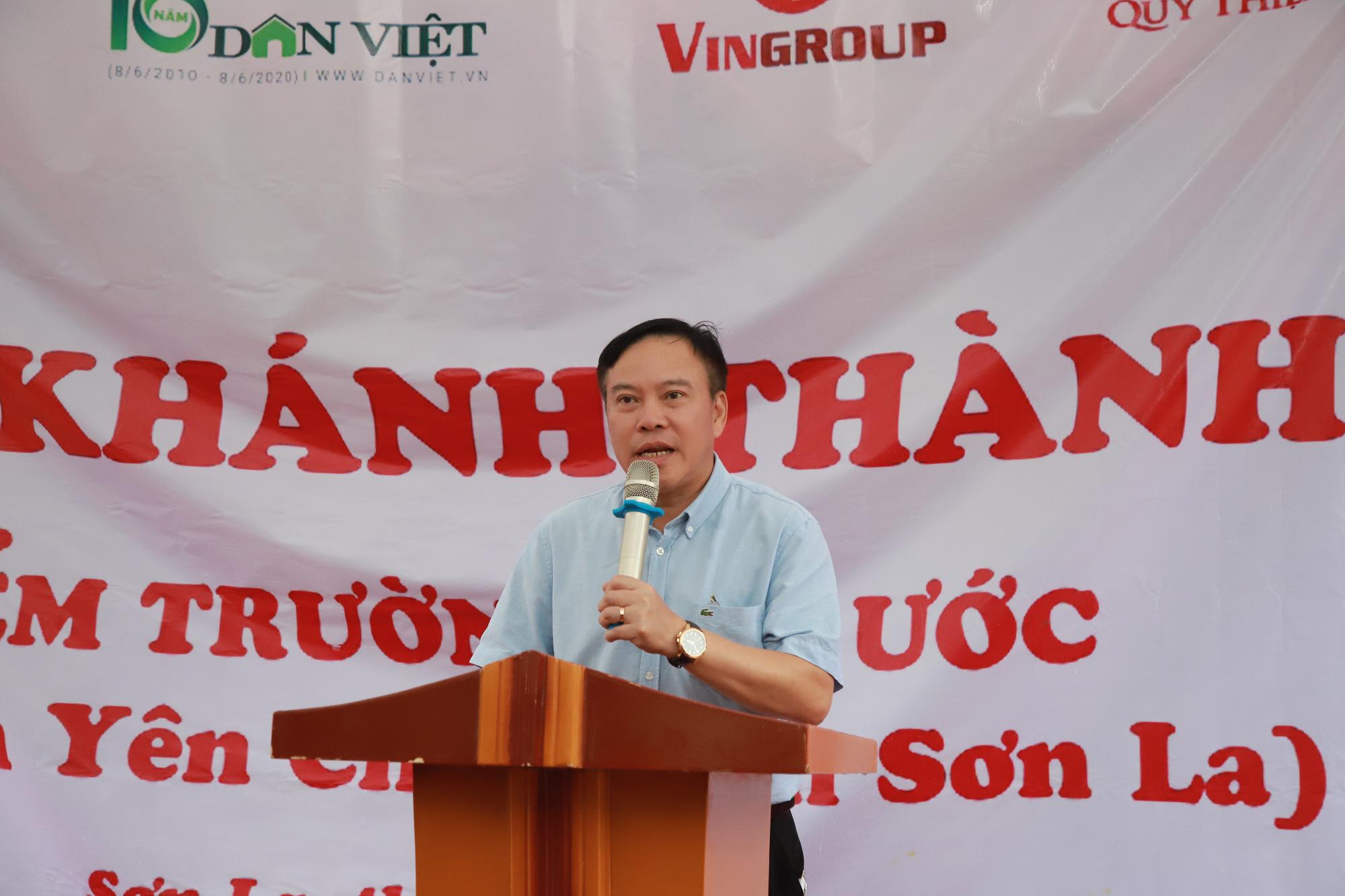 Gần trăm trẻ mầm non vùng cao biên giới Sơn La có điểm trường mơ ước - Ảnh 4.