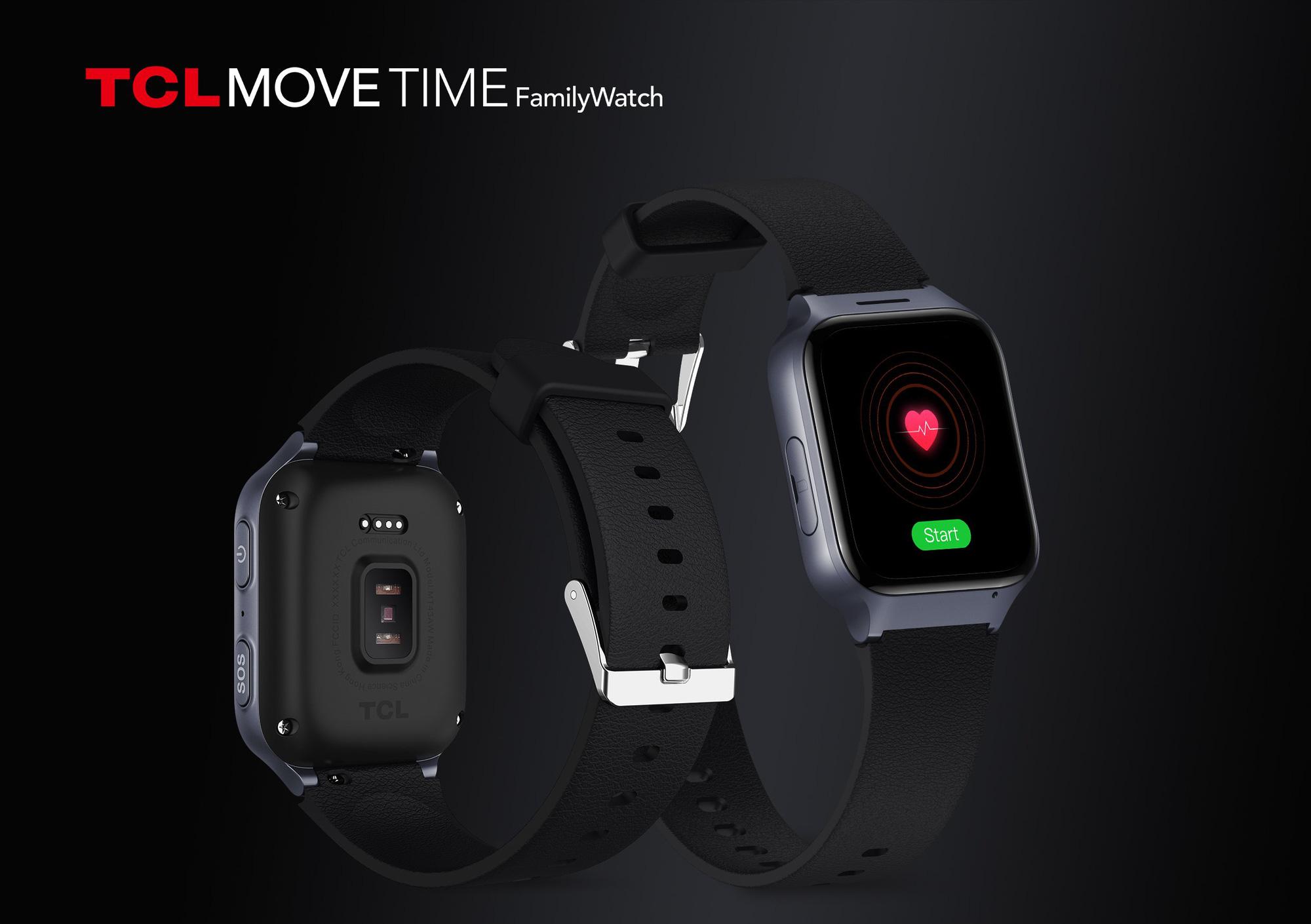 Hãng TCL tung dòng đồng hồ thông minh cho người già, tính năng độc đáo - Ảnh 2.