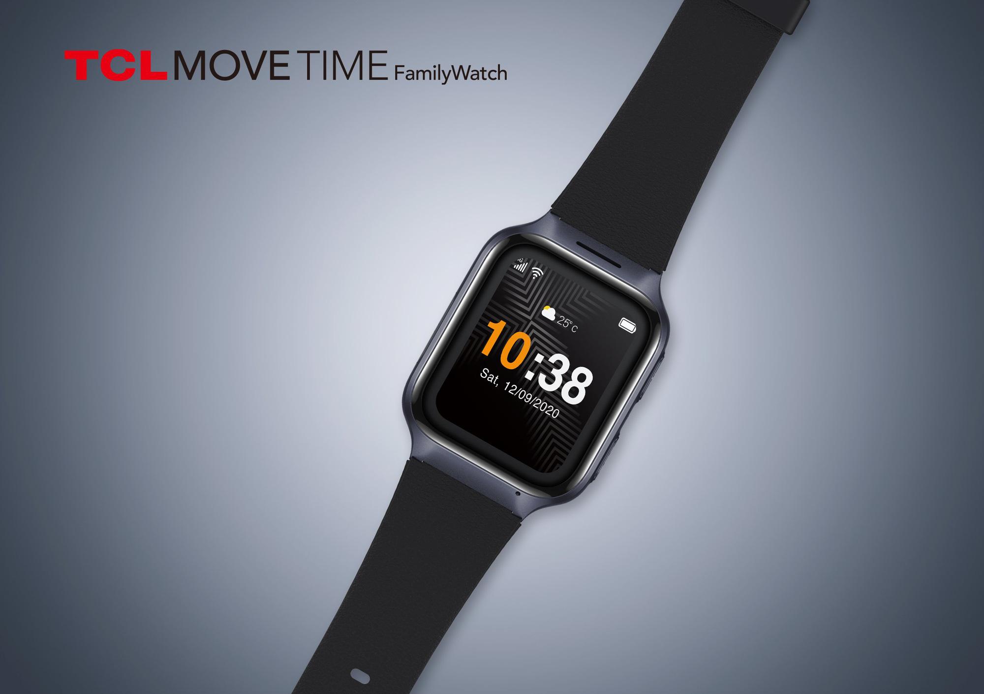 Hãng TCL tung dòng đồng hồ thông minh cho người già, tính năng độc đáo - Ảnh 1.