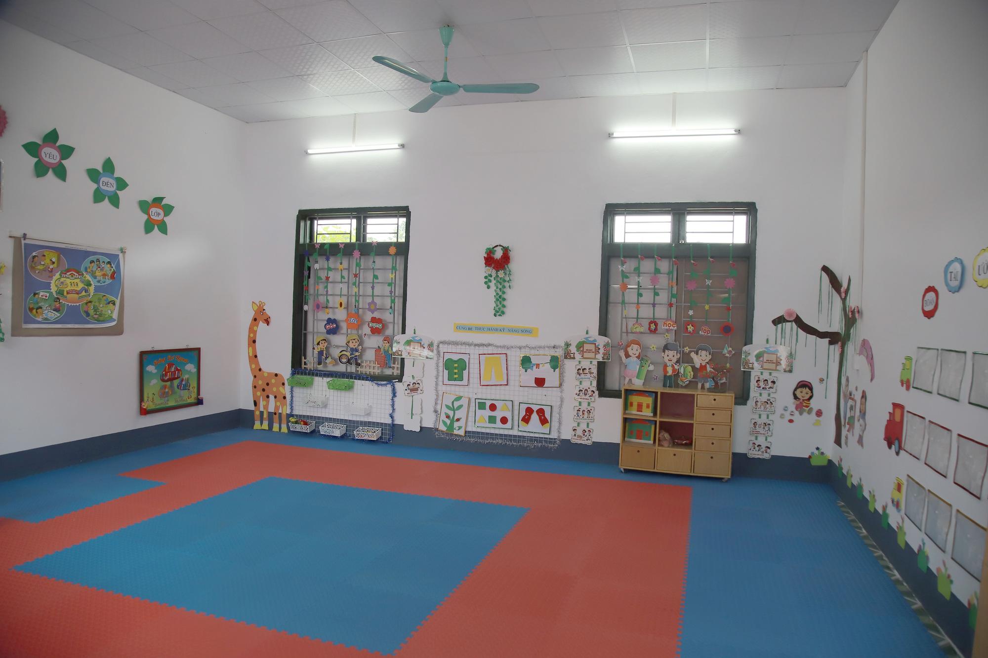 Gần trăm trẻ mầm non vùng cao biên giới Sơn La có điểm trường mơ ước - Ảnh 6.