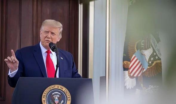 Trump yêu cầu Biden xin lỗi, tuyên bố sẽ thắng bầu cử ngoạn mục hơn năm 2016  - Ảnh 1.