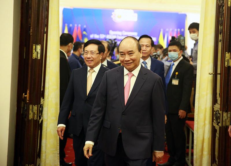 Toàn cảnh Hội nghị Bộ trưởng Bộ trưởng Ngoại giao ASEAN lần thứ 53 - Ảnh 2.