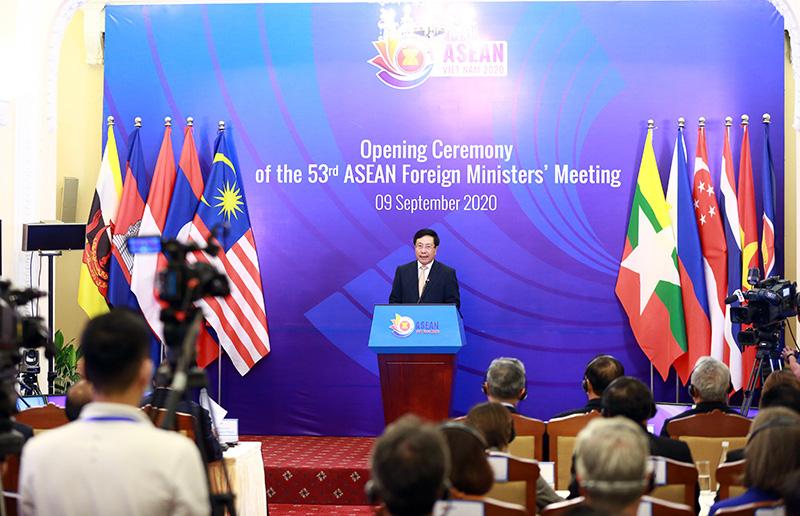 Toàn cảnh Hội nghị Bộ trưởng Bộ trưởng Ngoại giao ASEAN lần thứ 53 - Ảnh 3.
