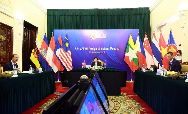 Toàn cảnh Hội nghị Bộ trưởng Bộ trưởng Ngoại giao ASEAN lần thứ 53 - Ảnh 5.