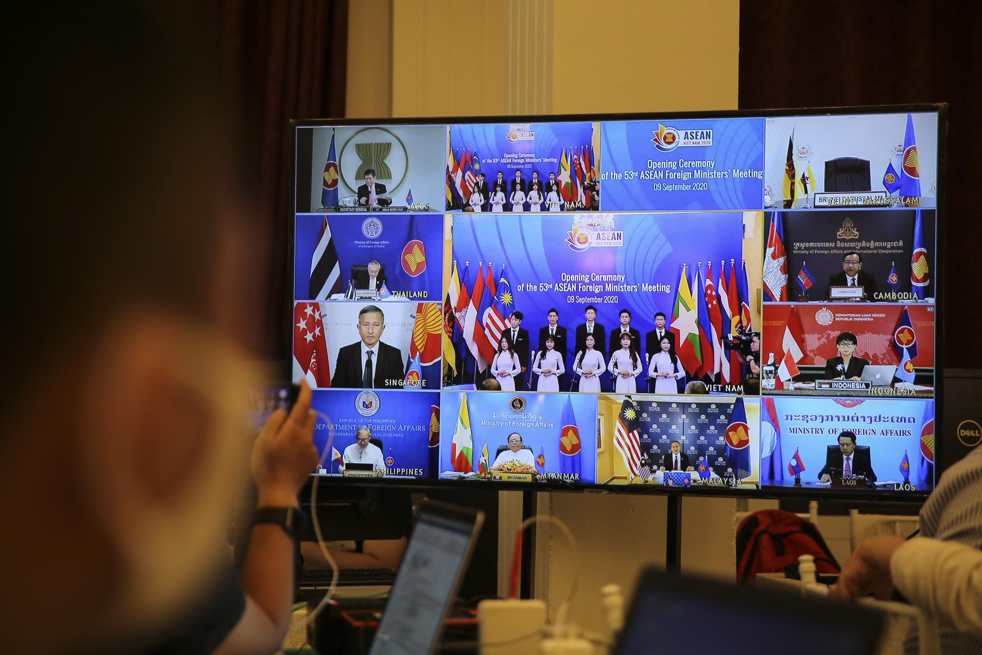 Toàn cảnh Hội nghị Bộ trưởng Bộ trưởng Ngoại giao ASEAN lần thứ 53 - Ảnh 6.