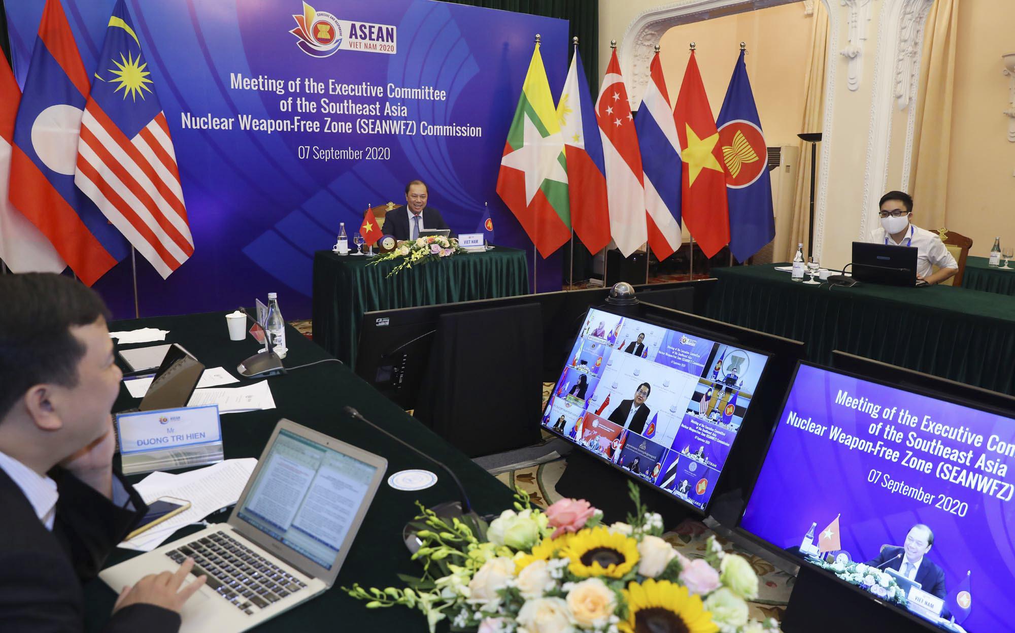 Toàn cảnh Hội nghị Bộ trưởng Bộ trưởng Ngoại giao ASEAN lần thứ 53 - Ảnh 7.