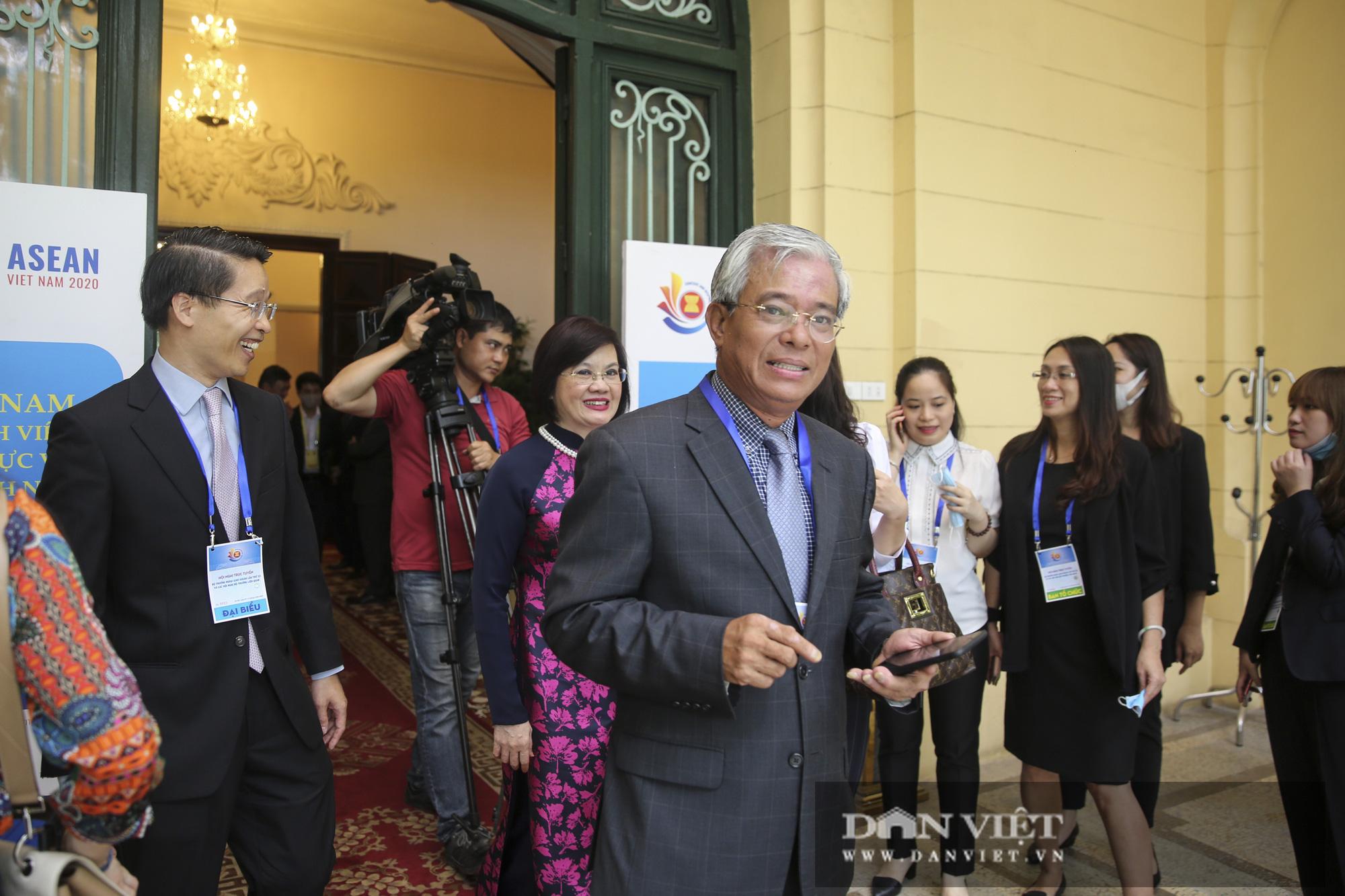 Toàn cảnh Hội nghị Bộ trưởng Bộ trưởng Ngoại giao ASEAN lần thứ 53 - Ảnh 8.