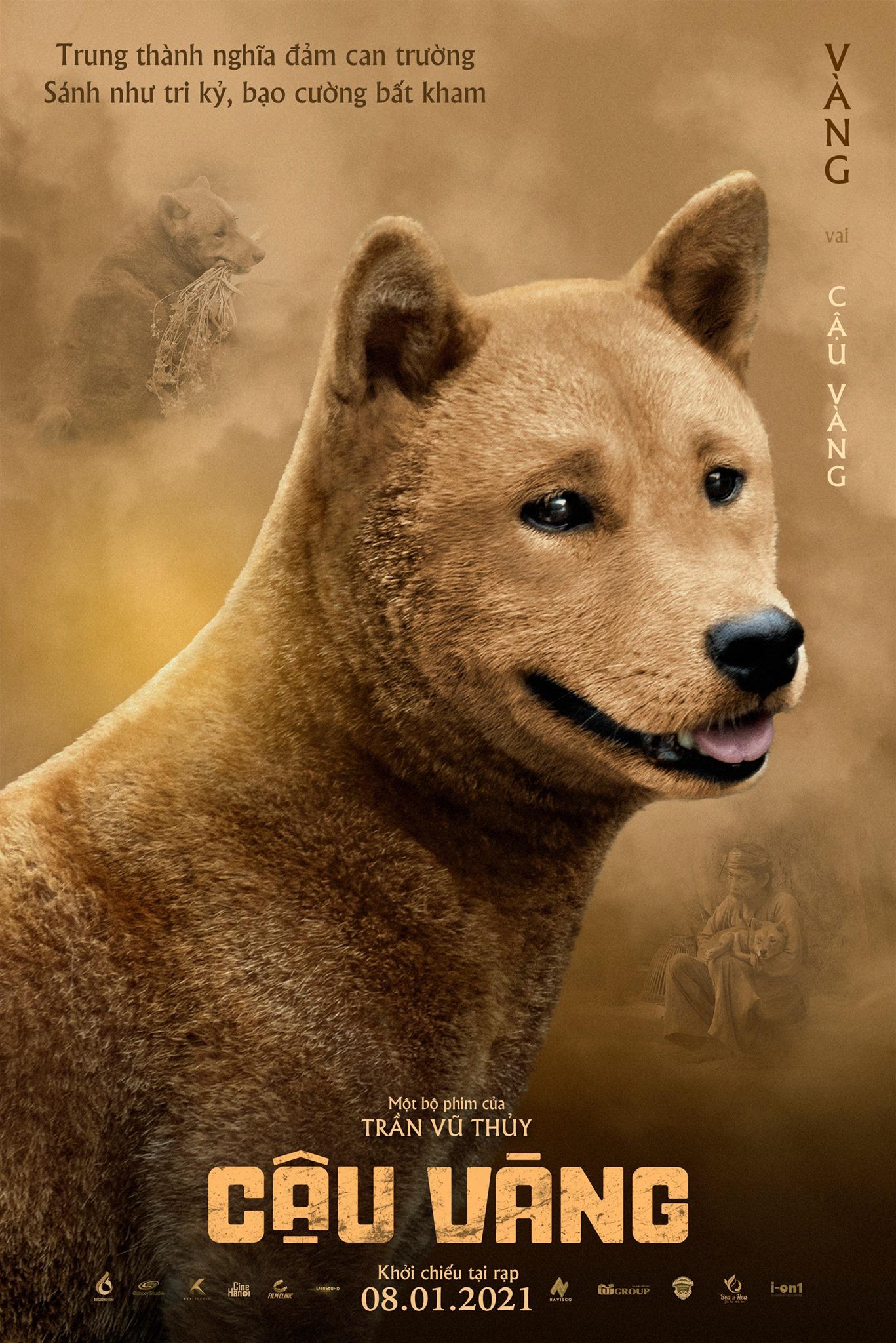 """Tung poster giới thiệu nhân vật, """"Cậu Vàng"""" lại khiến dân mạng dậy sóng vì điều này - Ảnh 1."""