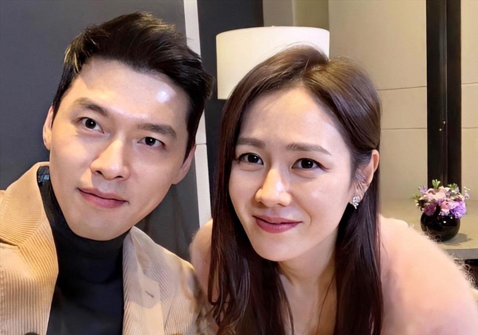 """Hyun Bin - Son Ye Jin gây """"sốt"""" mạng vì lộ bằng chứng hẹn hò bí mật ngày đầu năm mới 2021 - Ảnh 1."""