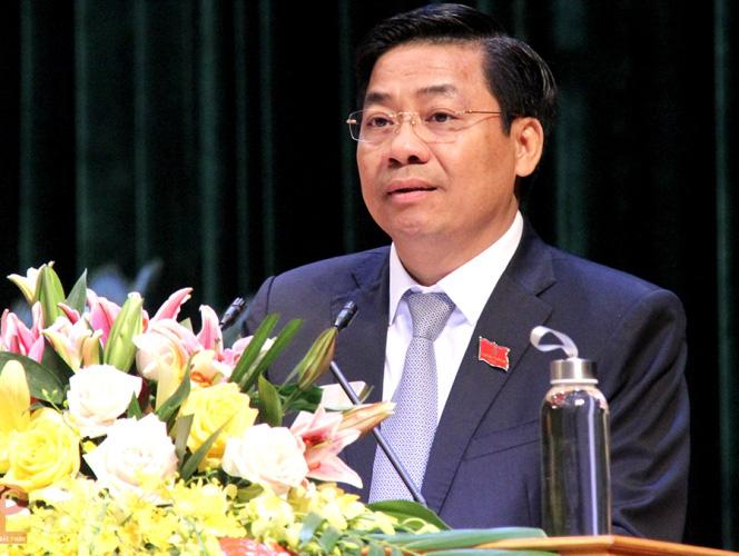 Bí thư Tỉnh ủy Dương Văn Thái được phê chuẩn miễn nhiệm Chủ tịch tỉnh - Ảnh 1.