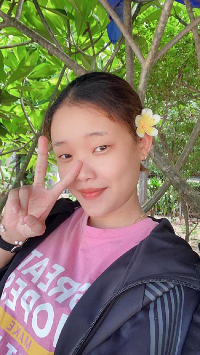 Giải nghệ ở tuổi 22, hoa khôi bóng chuyền Dương Thị Hên... xinh đẹp hút hồn - Ảnh 11.