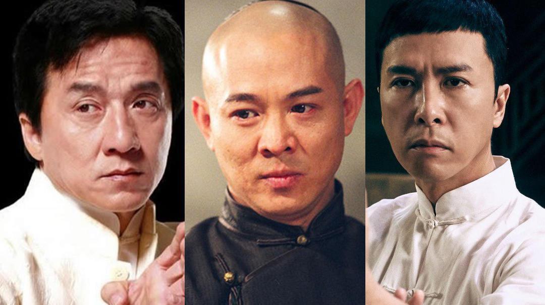 Những ngôi sao võ thuật Trung Quốc nổi tiếng thế giới như Thành Long, Lý Liên Kiệt, Chân Tử Đan.