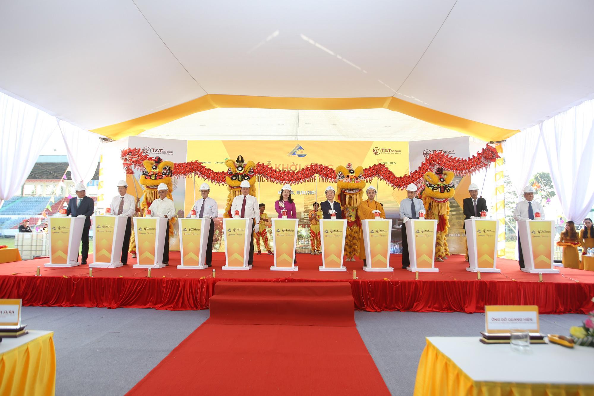 T&T Group khởi công khu phức hợp nhà ở - thương mại dịch vụ tại Trung tâm TP. Long Xuyên - Ảnh 1.