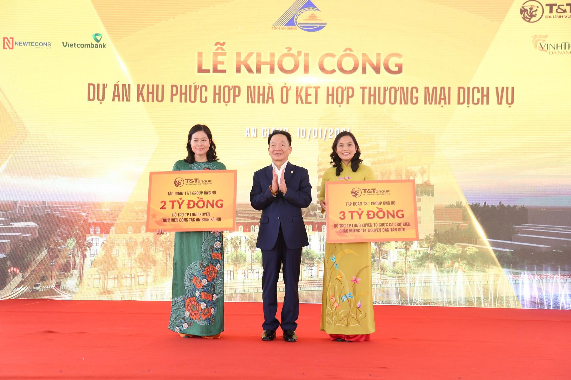 T&T Group khởi công khu phức hợp nhà ở - thương mại dịch vụ tại Trung tâm TP. Long Xuyên - Ảnh 3.
