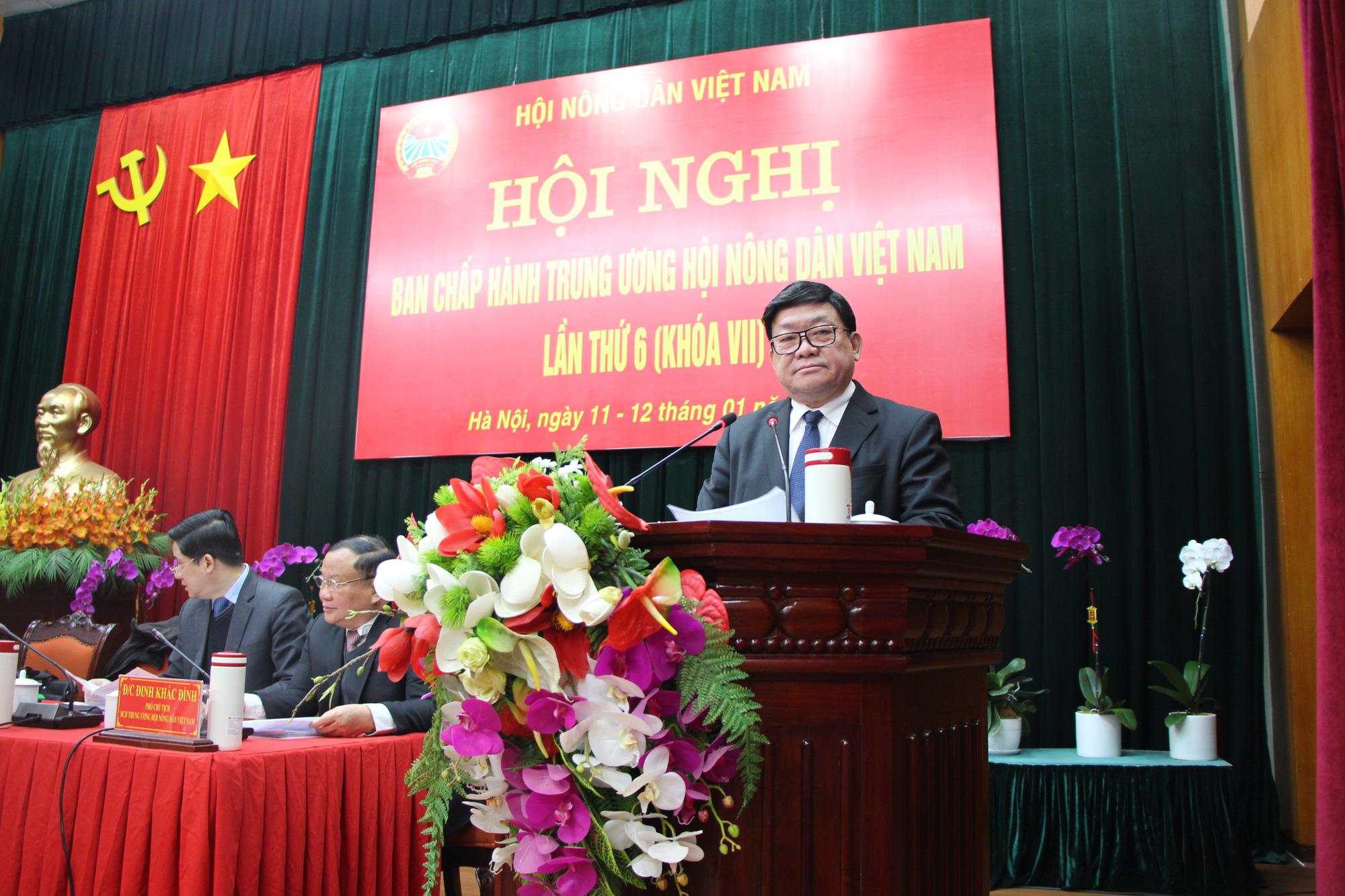 """Chủ tịch Hội NDVN Thào Xuân Sùng: Thay đổi tư duy sản xuất nông nghiệp, thúc đẩy mối liên kết """"6 nhà"""" - Ảnh 1."""