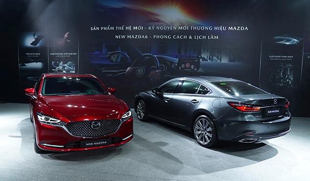 """Mazda 6 2021 có gì đặc biệt để """"đe doạ"""" Toyota Camry? - Ảnh 1."""