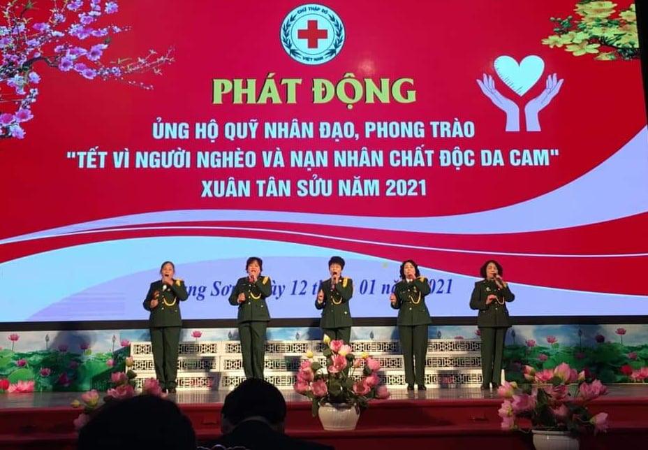 Lạng Sơn: Kêu gọi 2,4 tỷ ủng hộ Tết vì người nghèo và nạn nhân chất độc da cam  - Ảnh 1.