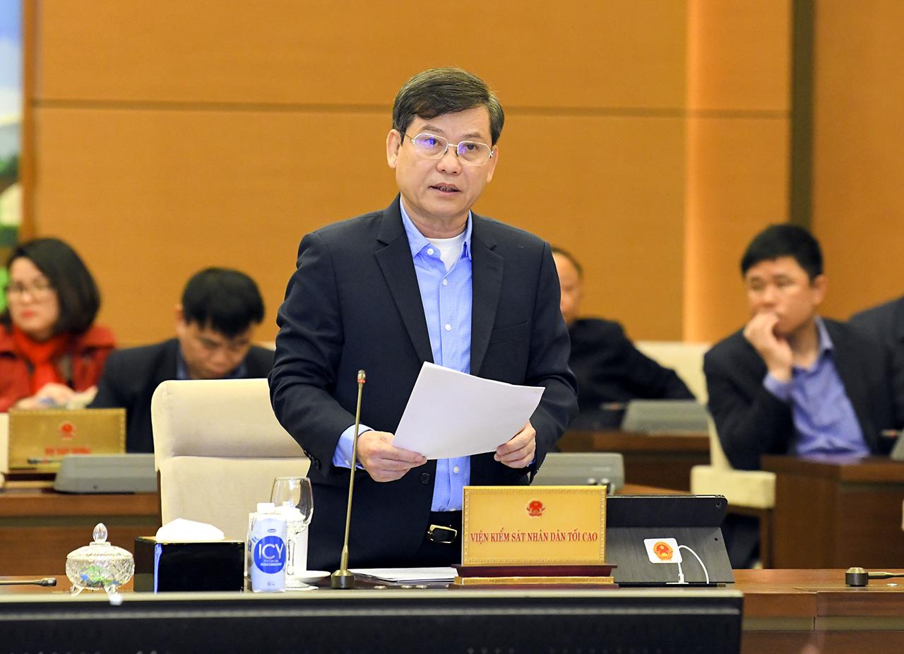 Ông Lê Minh Trí: Ra tòa Kiểm sát viên nói mạnh về Chủ tịch tỉnh, chắc mai mốt không xin đất, xin trụ sở được - Ảnh 1.