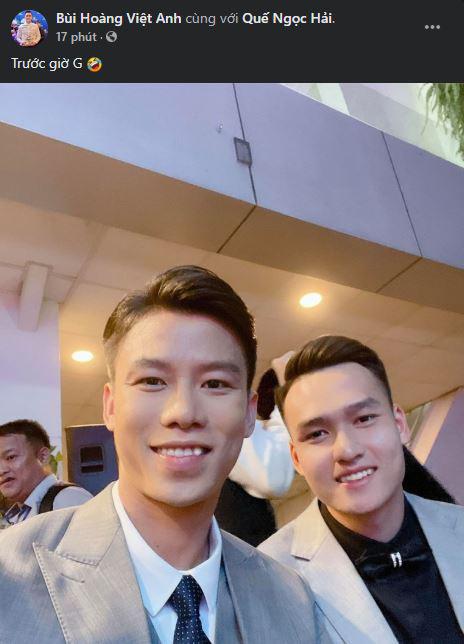 Cầu thủ trẻ Bùi Hoàng Việt Anh được vinh danh - Ảnh 3.