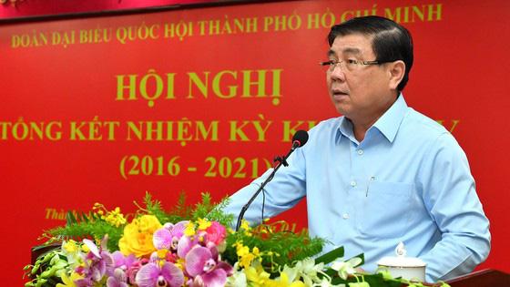 Đoàn đại biểu Quốc hội TP.HCM: Đã nỗ lực bám sát tâm tư người dân nhưng vẫn còn nhiều hạn chế - Ảnh 1.