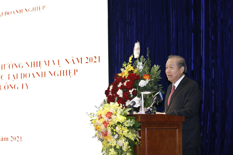 """Phó Thủ tướng Trương Hòa Bình: """"Siêu Ủy ban"""" không can thiệp việc thuộc thẩm quyền doanh nghiệp - Ảnh 2."""